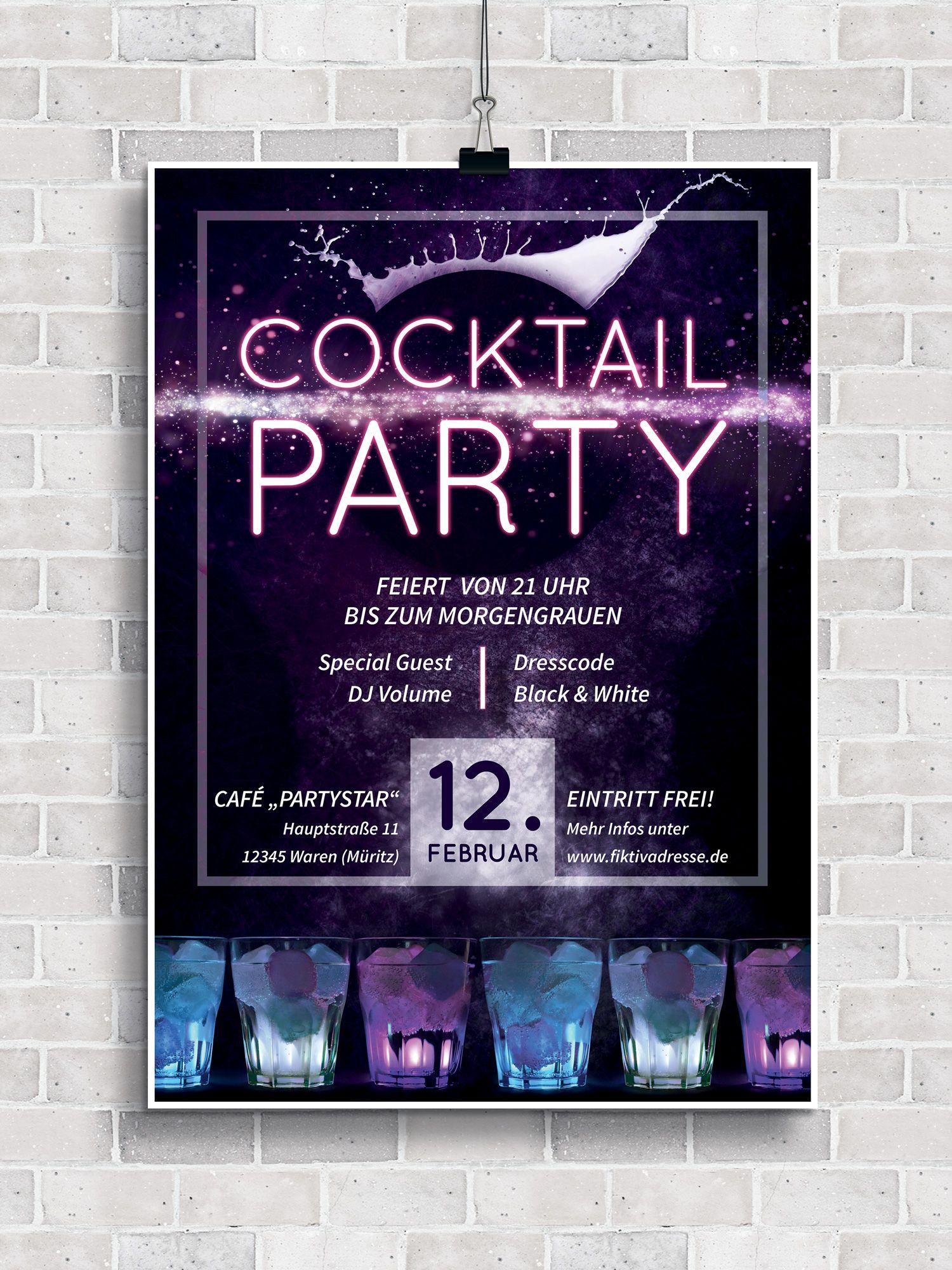 Party Flyer Plakate Vorlagen Herunterladen Und Erstellen Flyer Vorlage Flyer Party