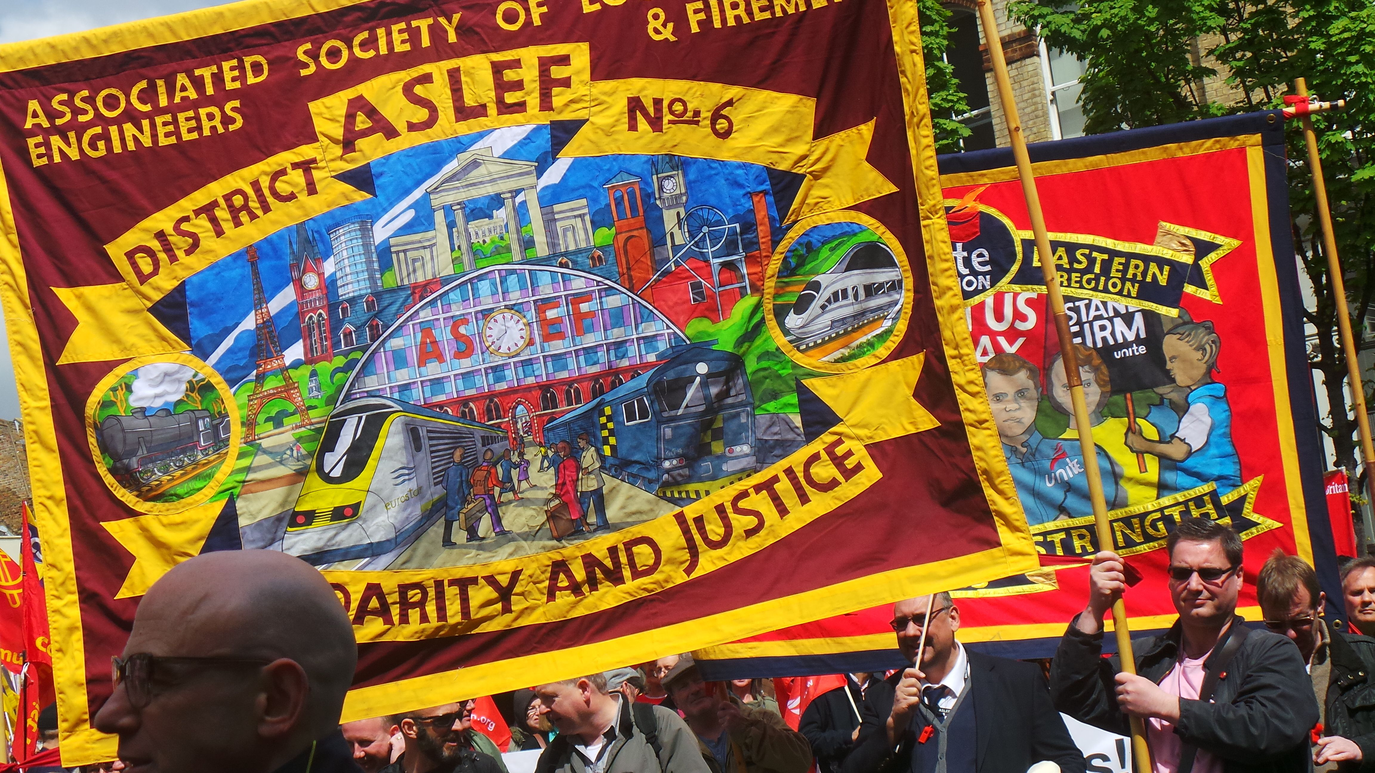 London May Day 2015 march Us regions, May days, London