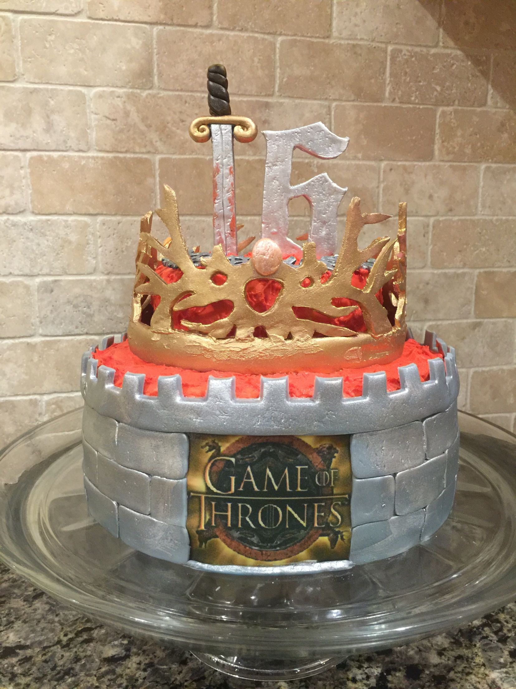 game of thrones cake by marcia gonzalez marcia gonzalez. Black Bedroom Furniture Sets. Home Design Ideas
