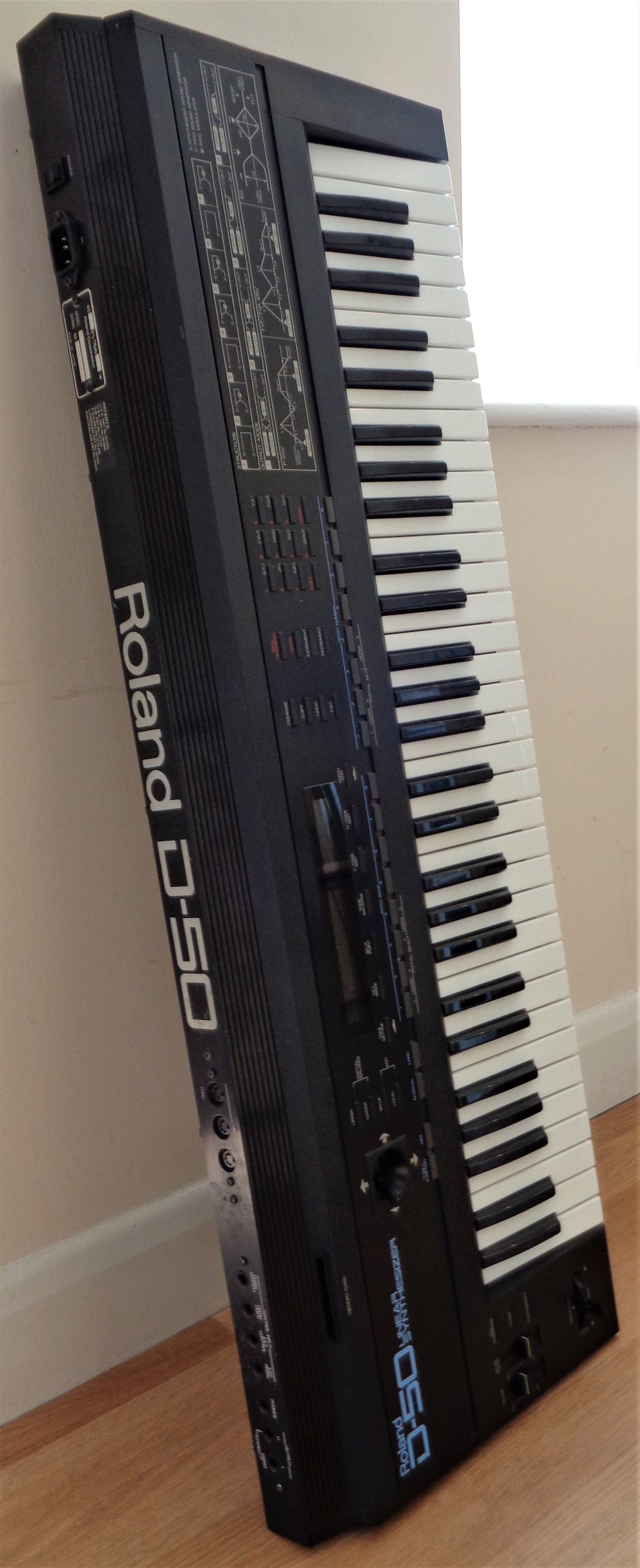 Roland D 50 Controller Design Synthesizer Keyboard