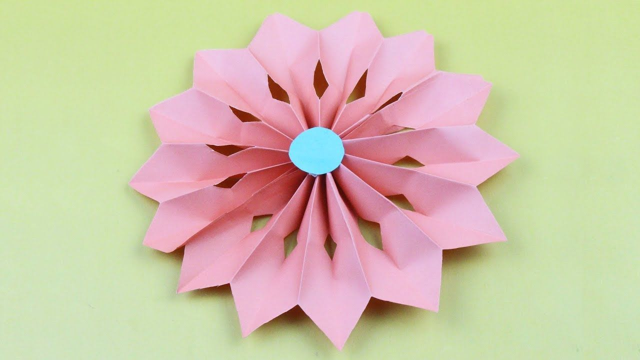 Origami Flower How To Make Flower By Paper For Occasion As Origami