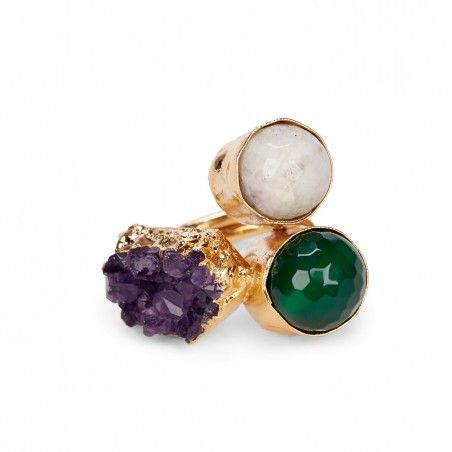 Sole Society - Cluster Stone Ring - Multi