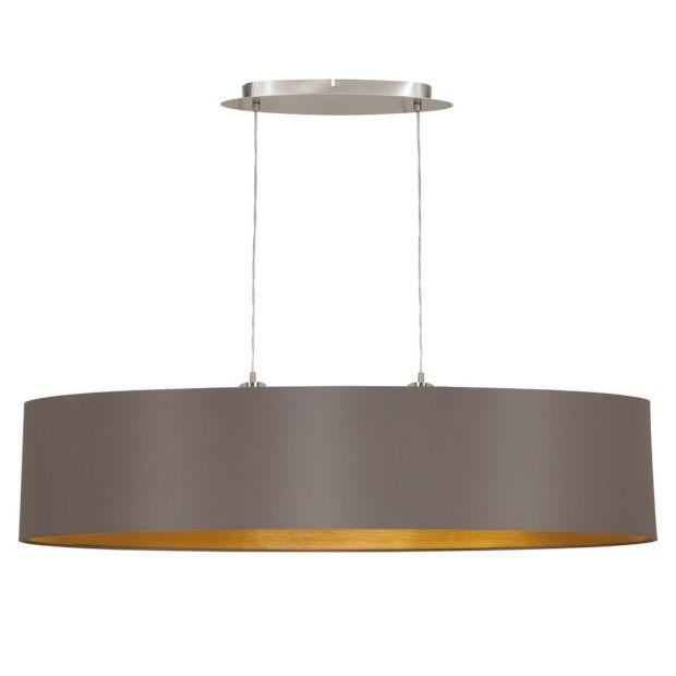 Eglo Maserlo Hanglamp Cappucino - 100 cm - afbeelding 1 #hit the - deckenlampen für küchen