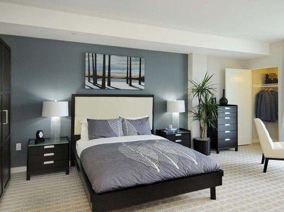 i colori adatti per le pareti di casa - camera da letto bianca e ... - Colori Adatti Per Una Camera Da Letto