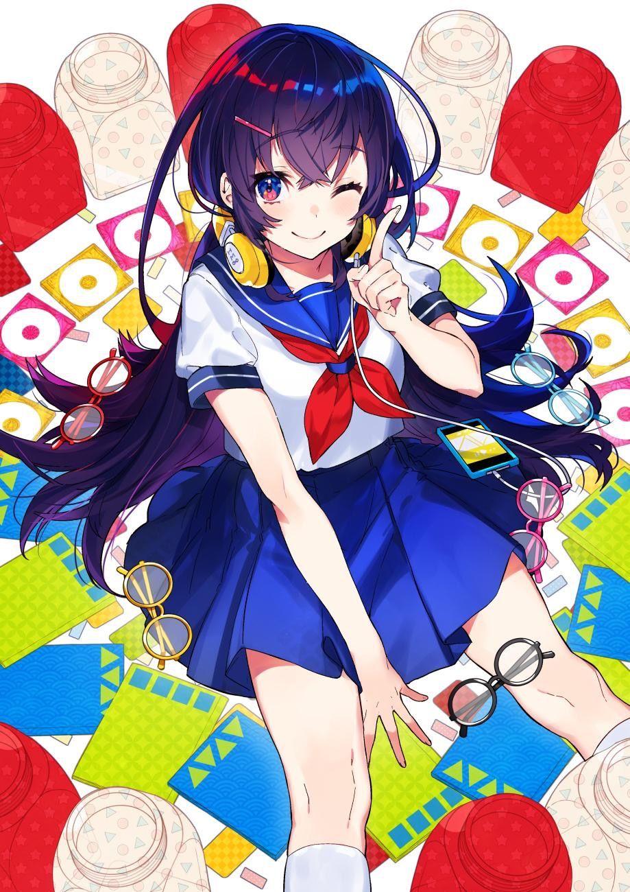 pin by 染 on 校服女孩 anime characters anime art girl anime