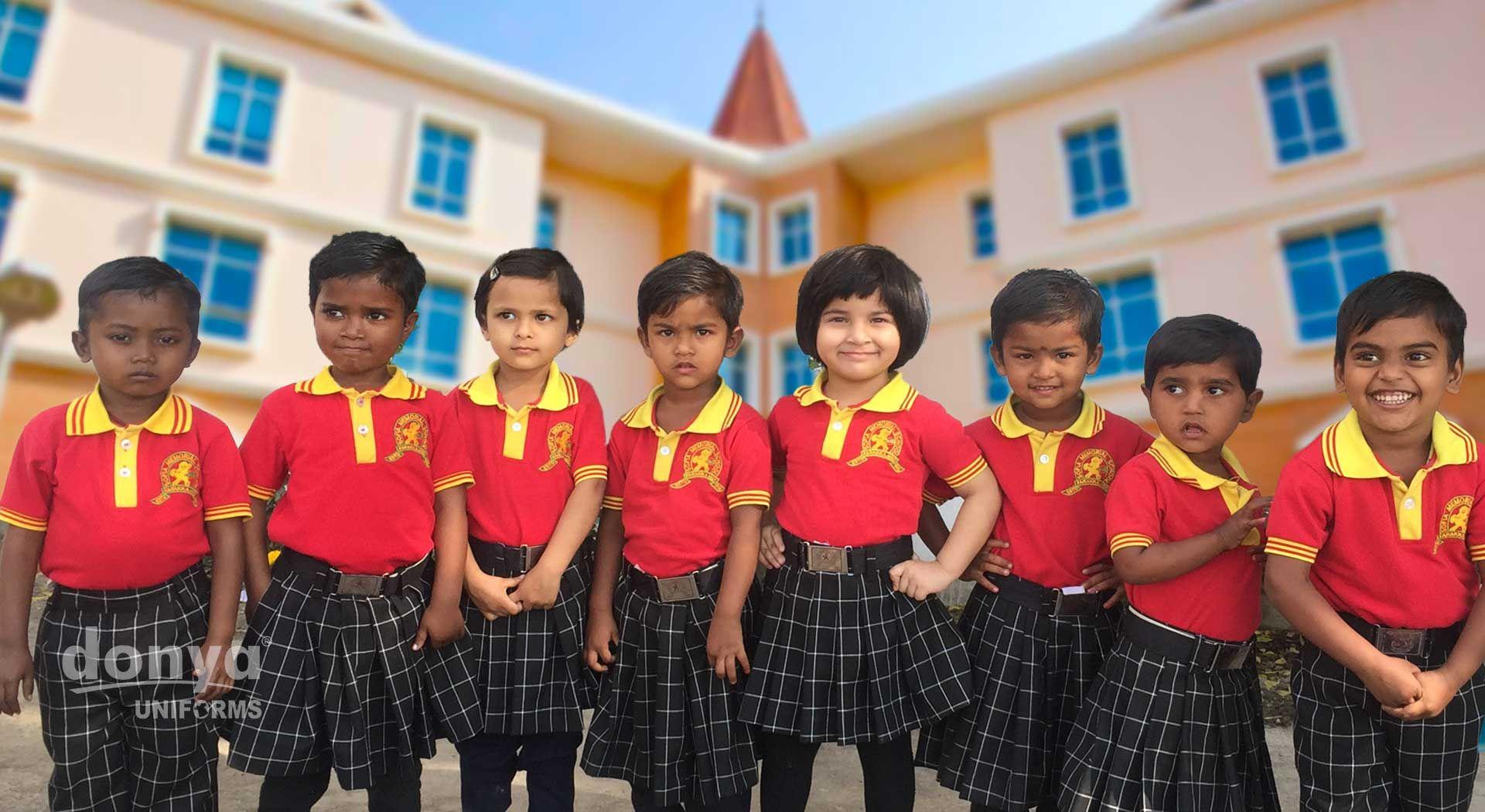 Girls School Skirt Girls School Skirts School Uniform Customised Uniform