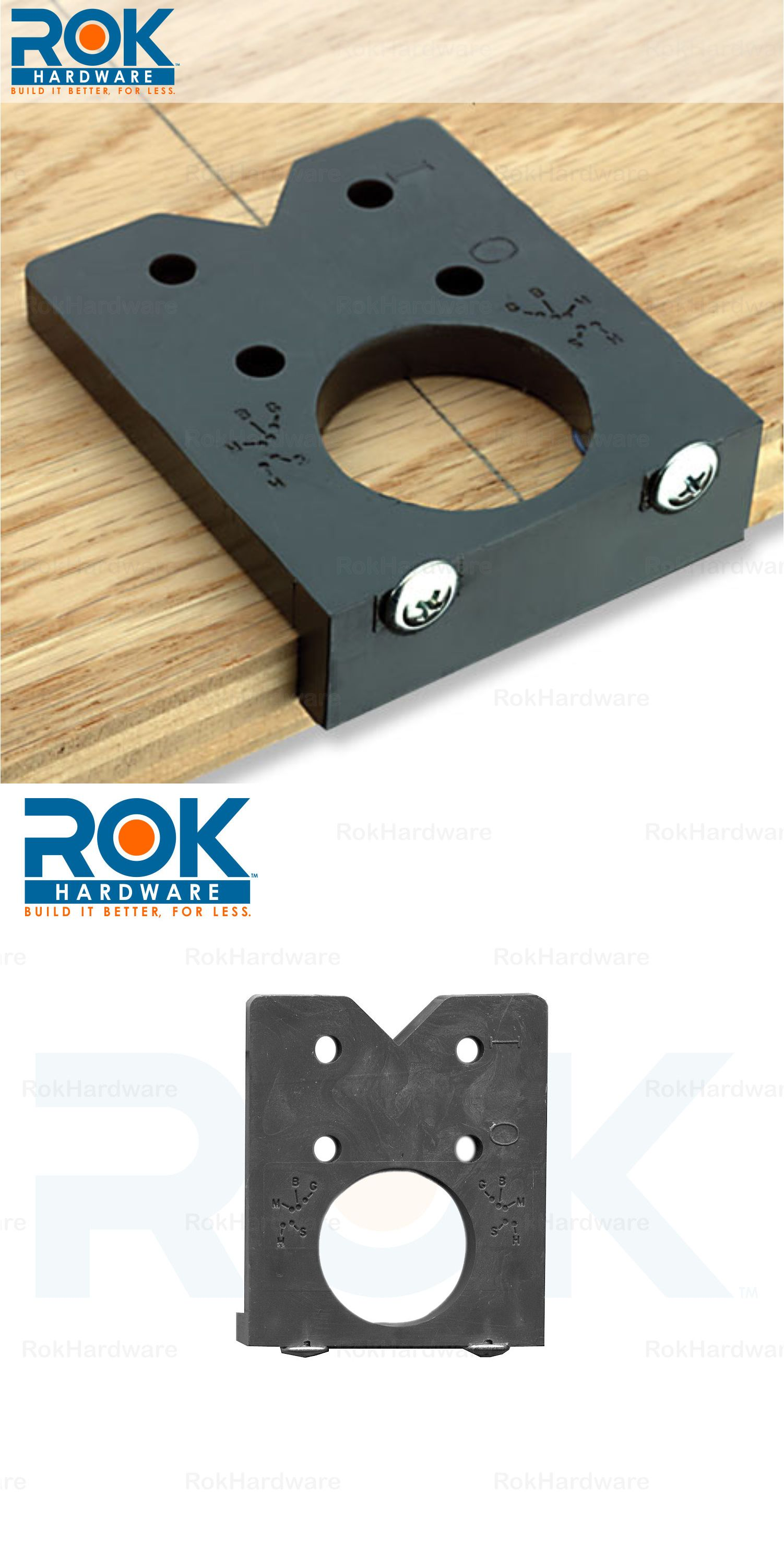Euro Limited Easy Drill Concealed Hinge Boring Jig By Rok Hardware Eleasydrill Concealed Hinges Jig Hinges