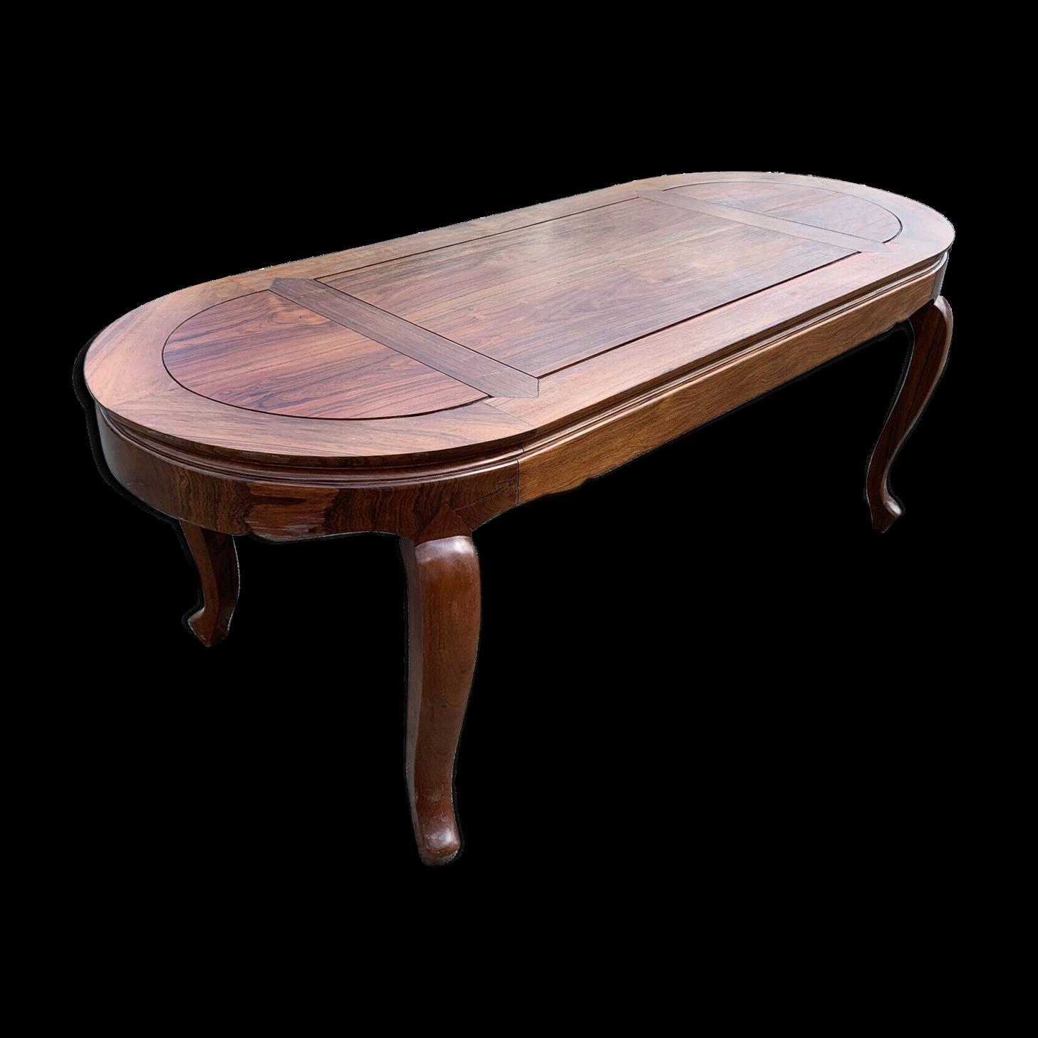 Table Anglaise Coloniale De Forme Ovale En Acajou Acajou Table Colonial