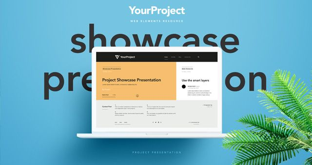 Psd Showcase Project Presentation Infography Pinterest - project presentation