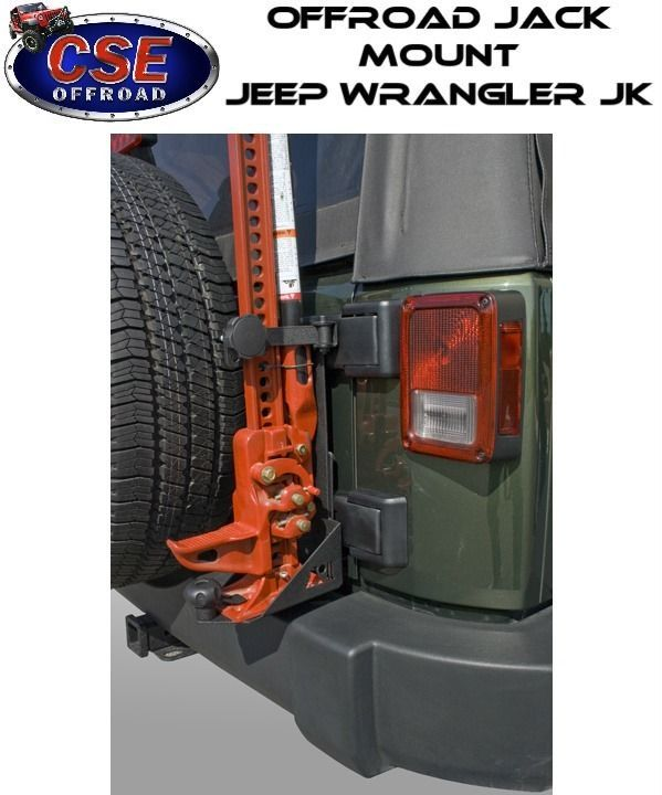 Details About Rear Hi Lift Jack Mount Heavy Duty For Jeep Wrangler
