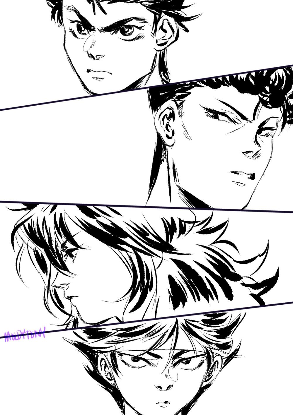 GAYDREAM GENERATION ★ Photo Male sketch, Hiei, Anime