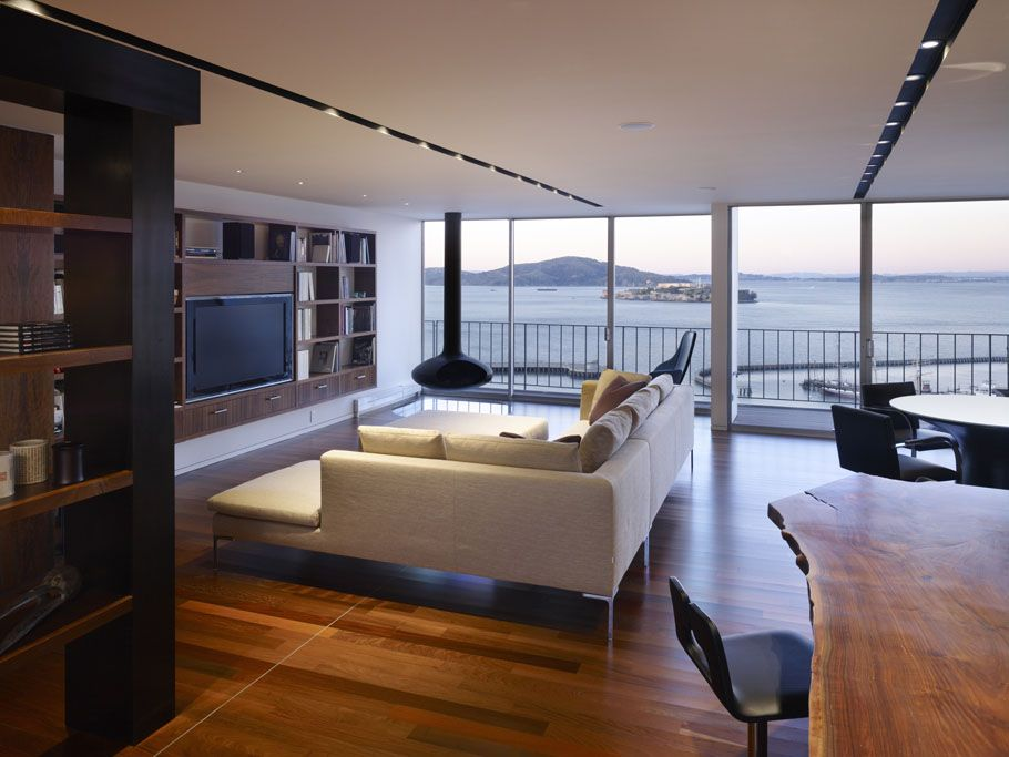 modern apartments | ... design ideas luxury penthouse apartment in ...