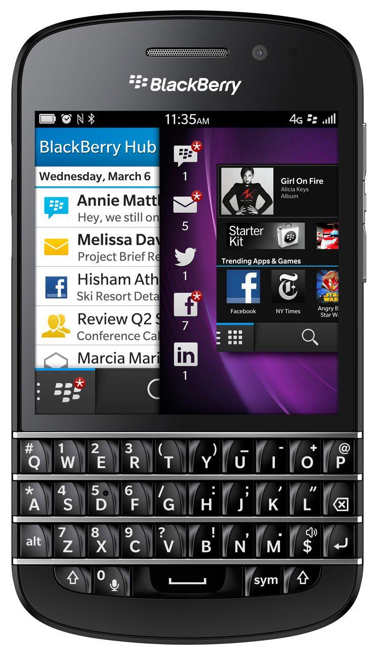2b3bd20ac2e RIM lance BlackBerry 10, les smartphones Z10 et Q10 et change de nom ...
