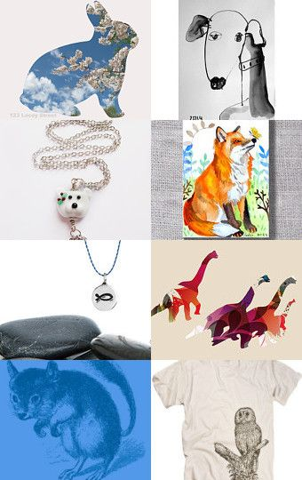 Cool Critters by Courtney and Kelsey Montague on Etsy--Pinned with TreasuryPin.com
