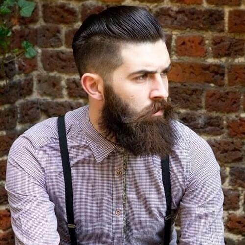 60 Pompadour Haircut Suggestions 2020 Beard Styles Best Beard