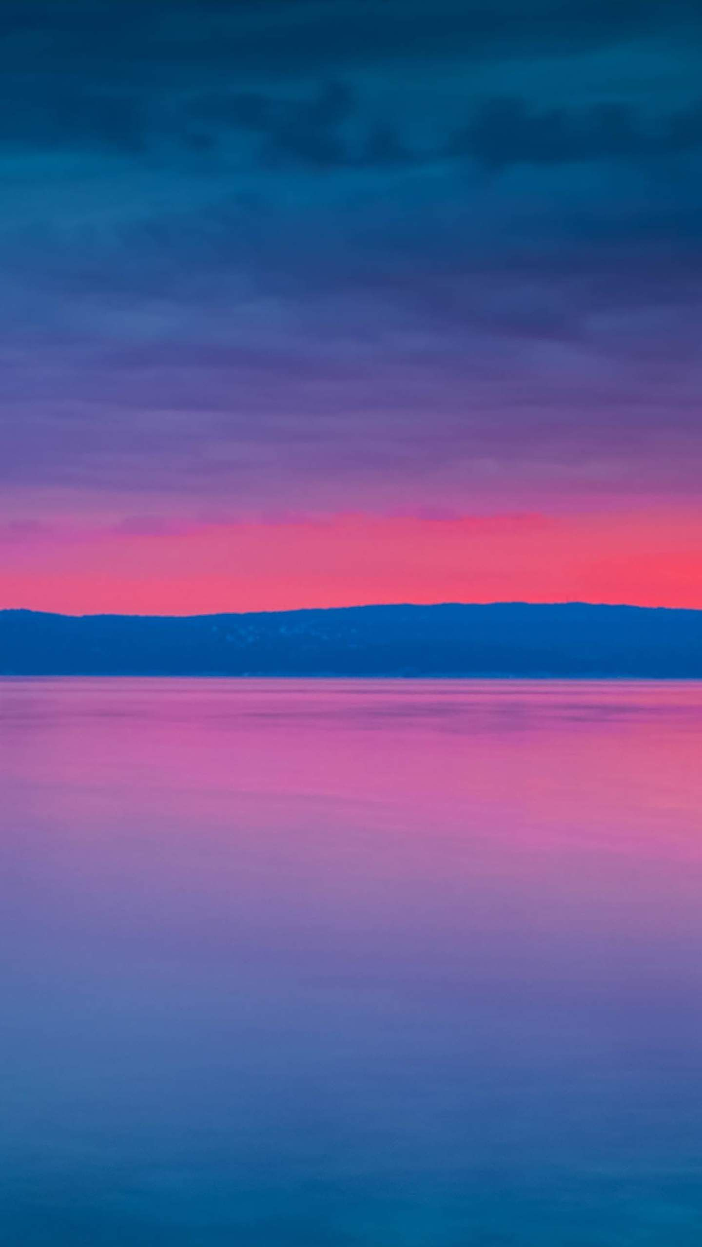 Pink sunset iPhone Wallpaper