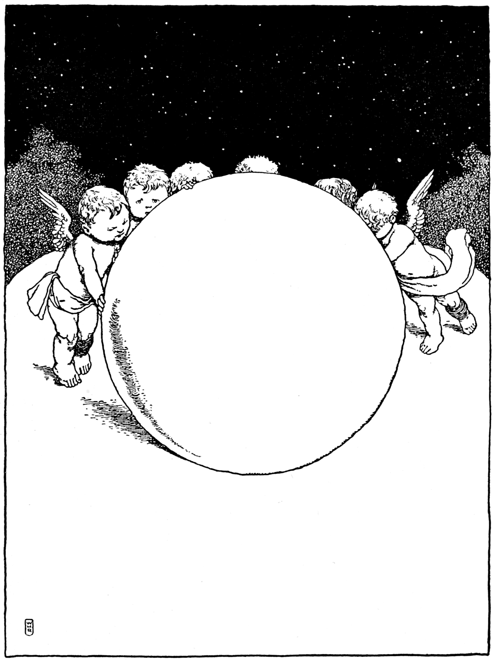 "They may be just what makes the world go round. ""The Water-Babies"" (1915) illustrated by William Heath Robinson"