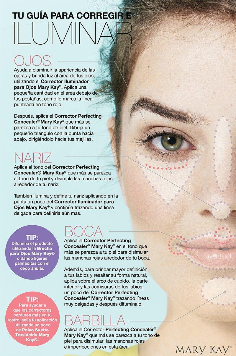 Cómo Aplicar El Corrector Y El Iluminador Y Mucho Más En Www Rincondebelleza Com Consejos De Maquillaje Maquillaje De Belleza Maquillaje De Ojos Fácil