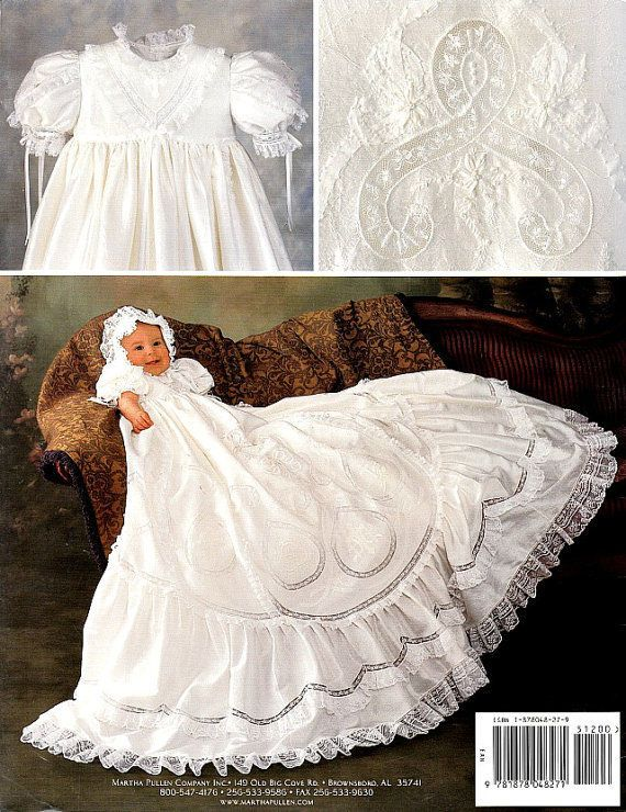 New martha pullen pattern for anna garrin\'s baptismal gown & bonnet ...
