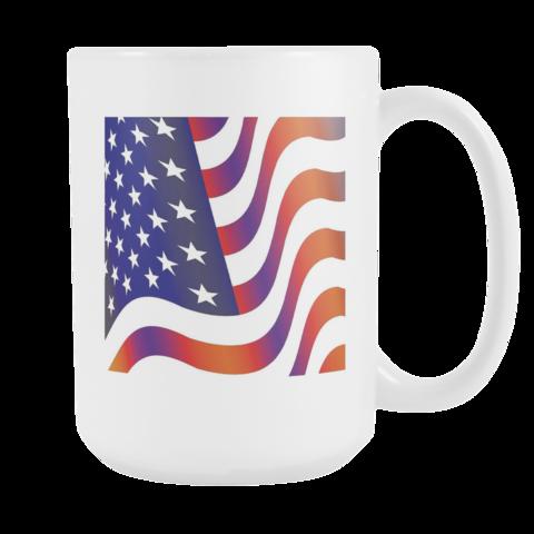 American Flag Mug Muggalicious Mug Coffee Cool Unique
