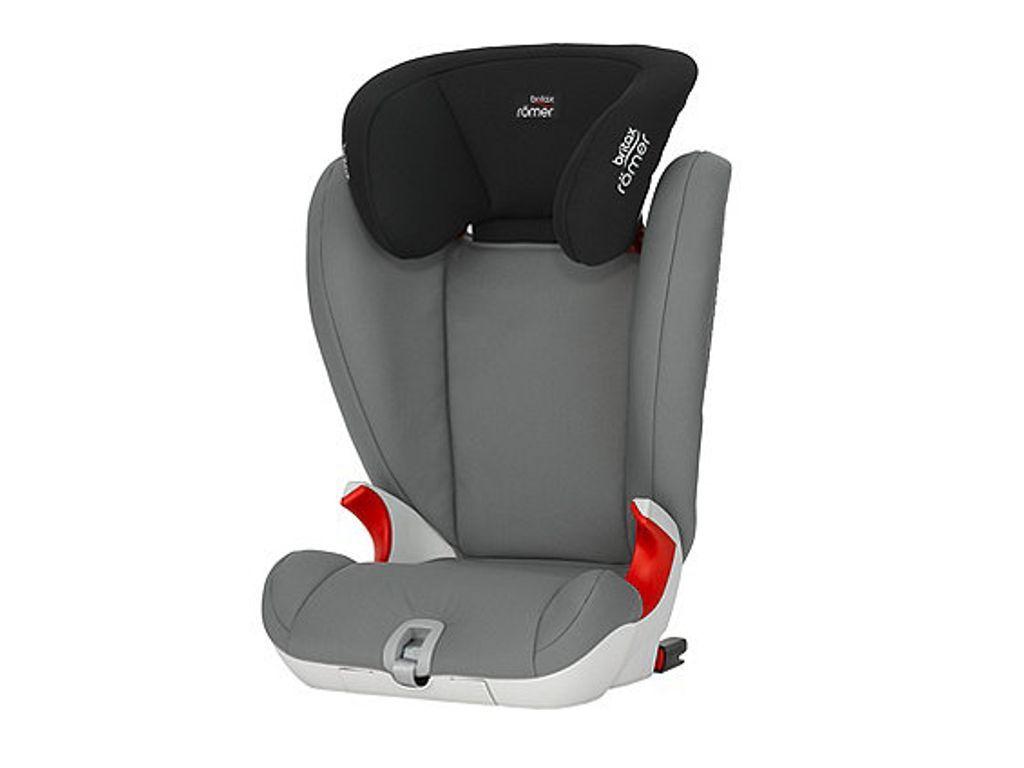 Britax R Mer Kidfix Sl High Back Booster Car Seat Steel Grey Car Seats Baby Car Seats Booster Car Seat