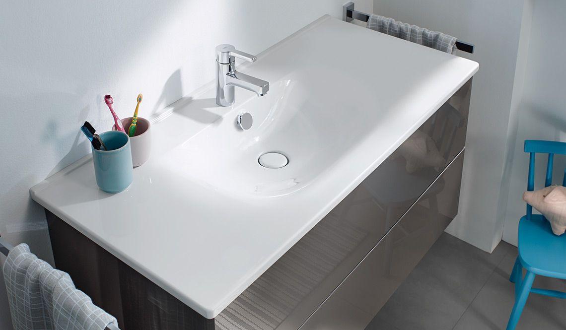 Burgbad essento keramik waschtisch minimalistisch und soft