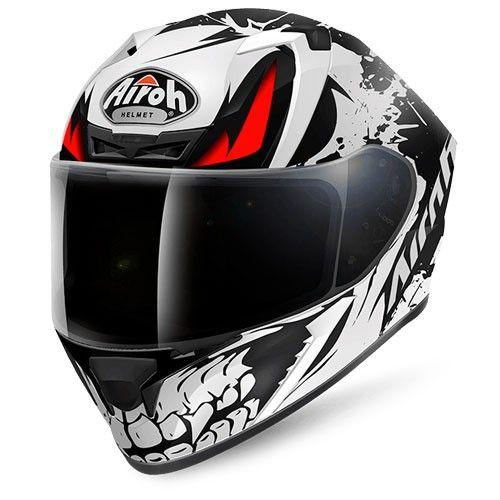 Helmet Full-Face Airoh Valor Sam Black Gloss