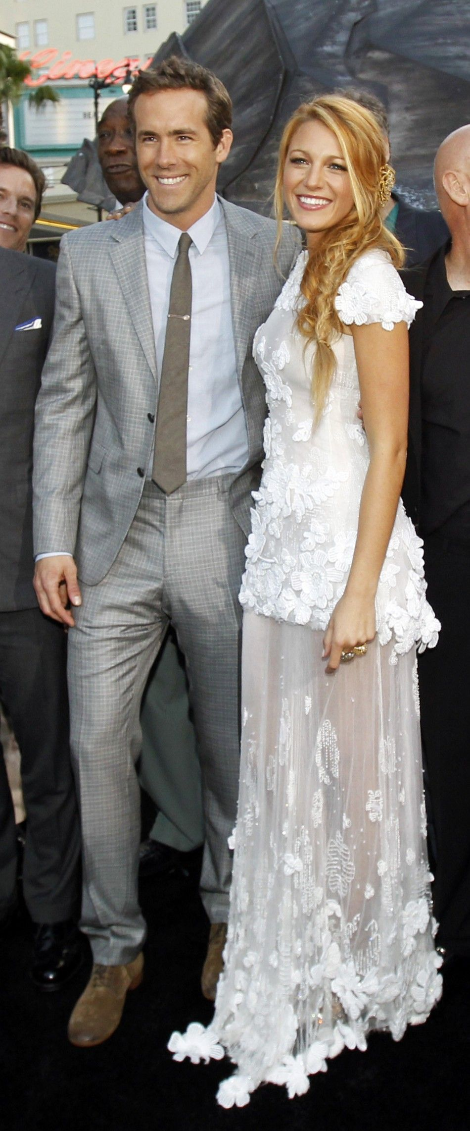 Blake and Ryan- congrats on your marriage! Hottest couple alert ...