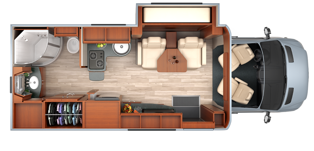 Mercedes Sprinter Floor Plan: Mercedes Sprinter Rv Floor Plans