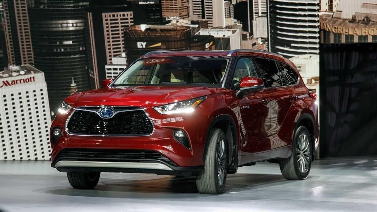 2020 Toyota Highlander Limited Platinum Release Date Toyota Highlander Toyota Venza Toyota