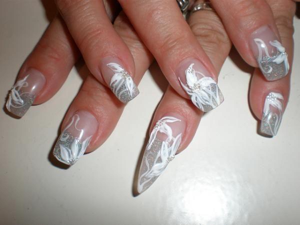 35 cool 3d nail art gel nail art nail art 3d and make up 35 cool 3d nail art prinsesfo Gallery