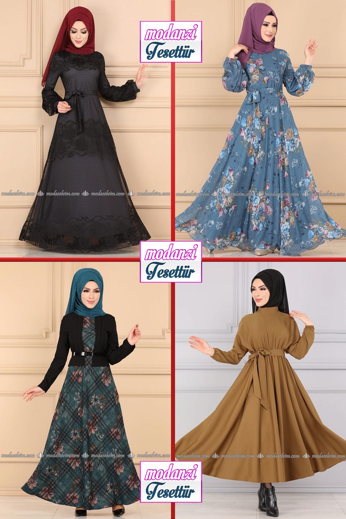 Modaselvim Buyuk Beden Elbise Modelleri 2 2020 Yaz Tesettur Elbise Plus Size Dresses 2020 Plus Size Dresses Elbise Elbise Modelleri