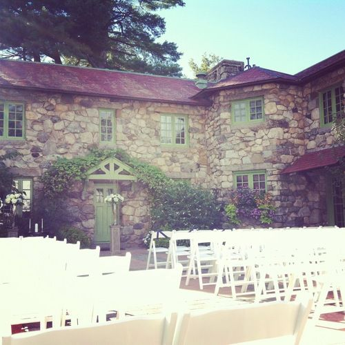 One of my favorite, favorite venues - the Willowdale Estate, Topsfield, MA