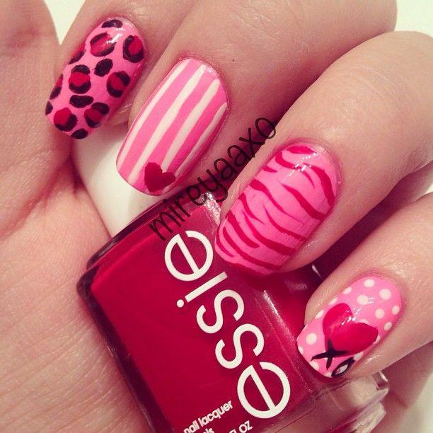 VALENTINE by mireyaaxo #nail #nails #nailart
