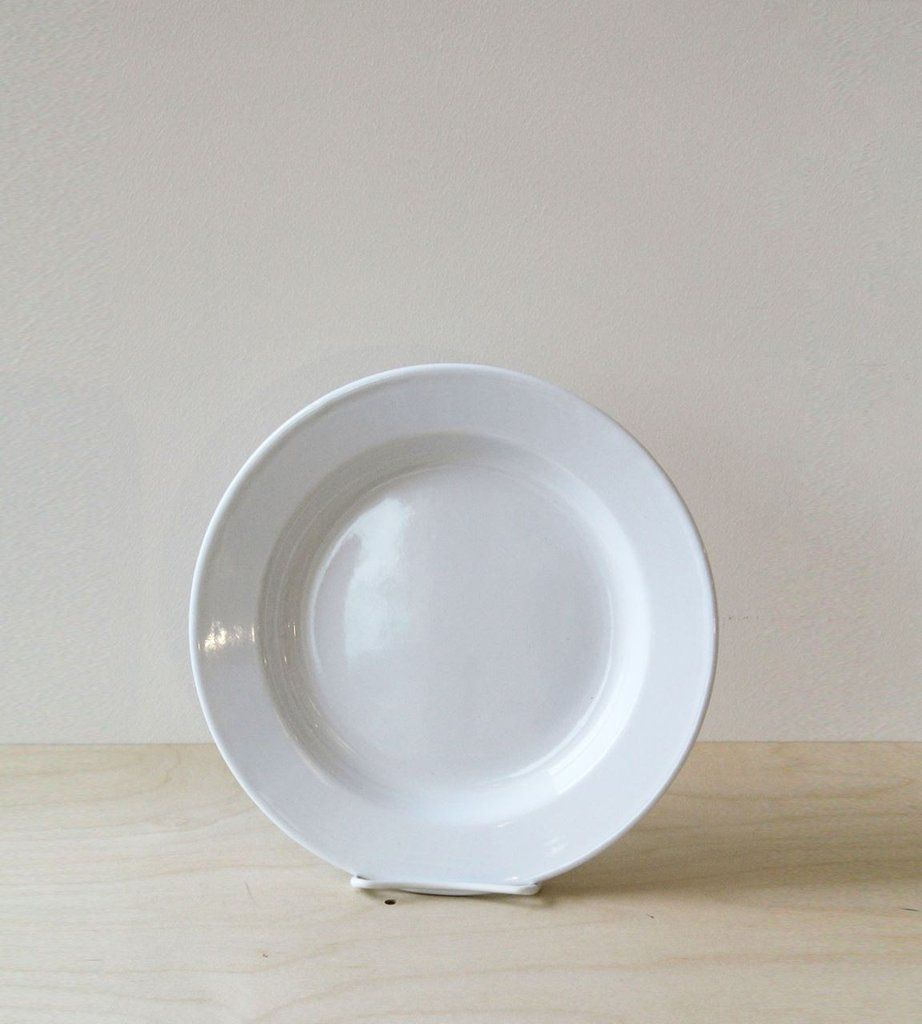 Awesome These White Enamel Dinner Plates From @fatherrabbit Are Super Crisp And  Practical For Outdoor Dining