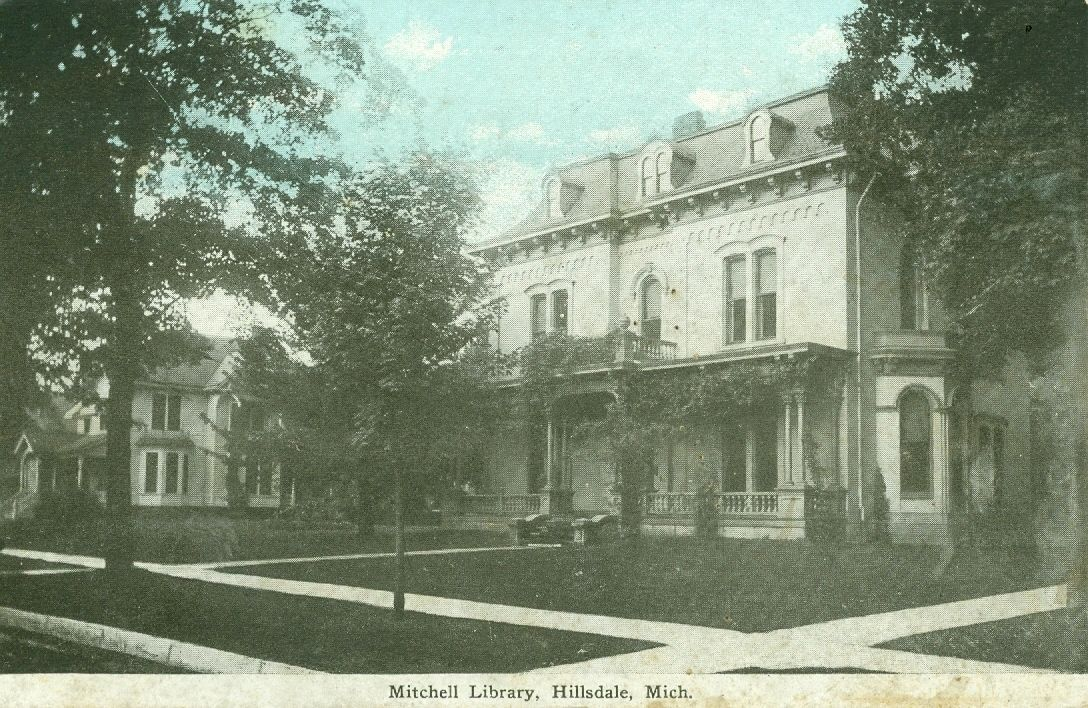 Hillsdale mi the mitchell library ebay with images