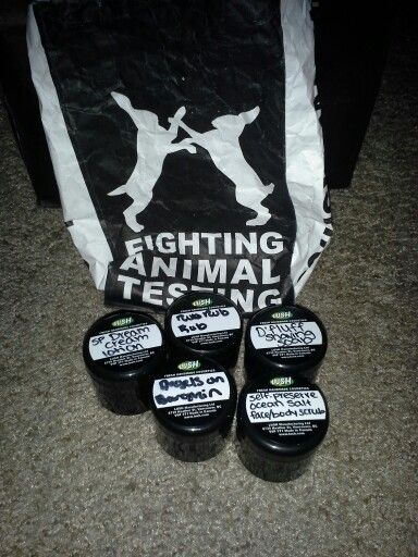 lush samples i received over the weekend angles on bare skin self