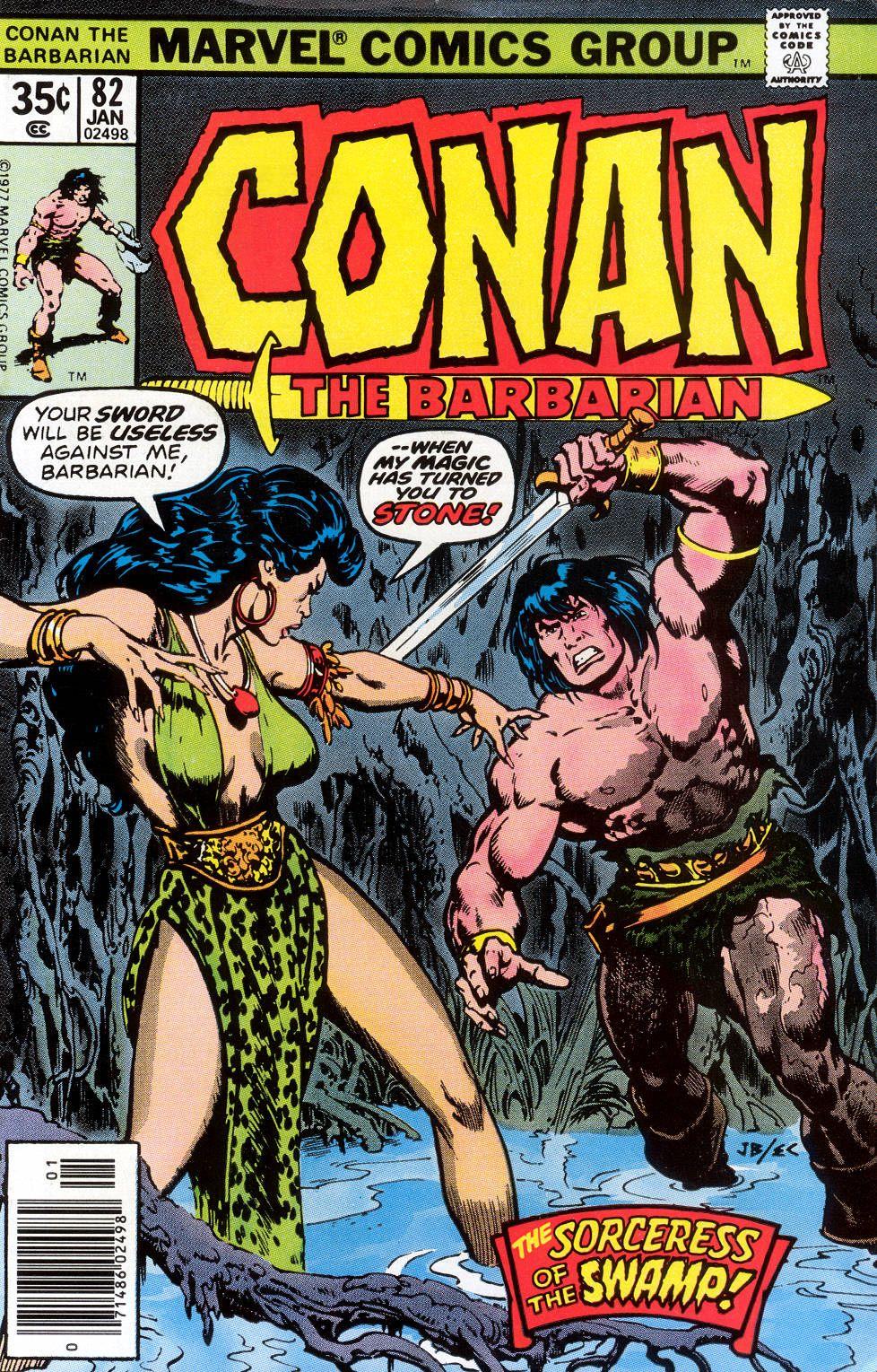 Conan the Barbarian 82