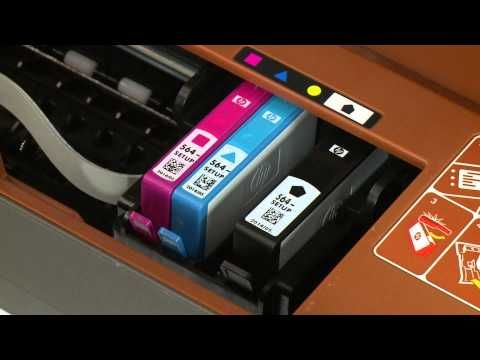 Replacing A Cartridge Hp Deskjet 3520 E All In One Printer Printer Ink Cartridges Printer Cartridge Printer