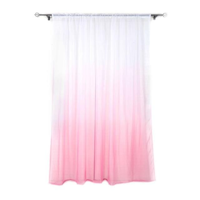 Tulle Curtains 3d Print Kitchen Decorations Window Treatments ...
