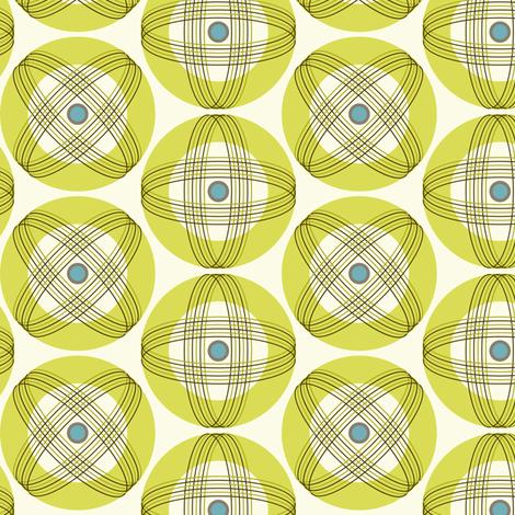 Orbit Kugeln Midcentury Modern 50er Jahre Vintage Retro Design Von Heatherdutton Auf Spoonflower Com Geometric Fabric Modern Fabric Spoonflower Fabric