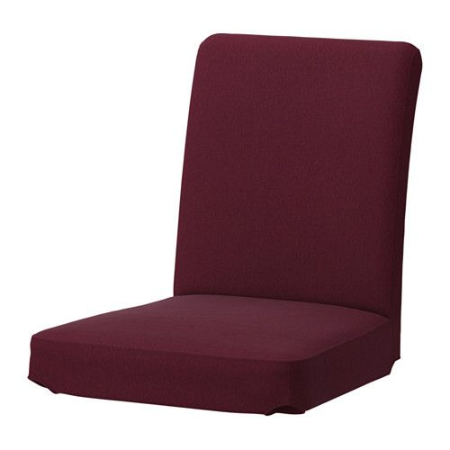 HENRIKSDAL Chair Cover Dansbo Red Lilac