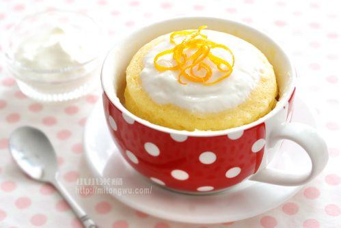 香草 馬克杯蛋糕 5分鐘 小小米桶