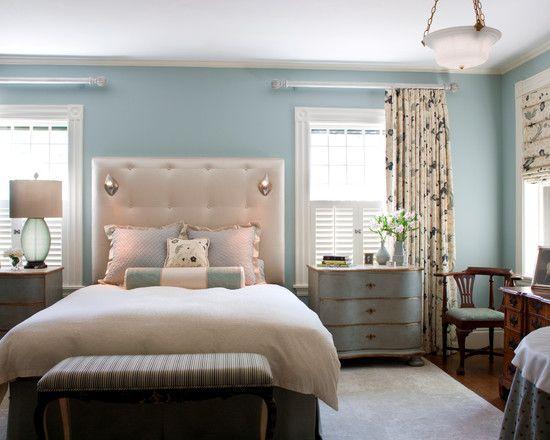 Traditional Blue Bedroom Designs traditional blue bedroom ideas