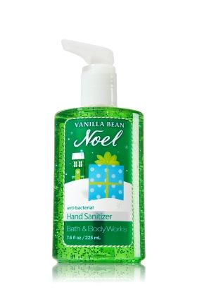 Vanilla Bean Noel Sanitizing Hand Gel Anti Bacterial Bath