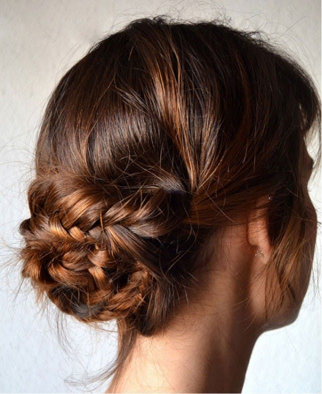 18 Boho Chic Updos For Every Occasion Brit Co Boho Hairstyle