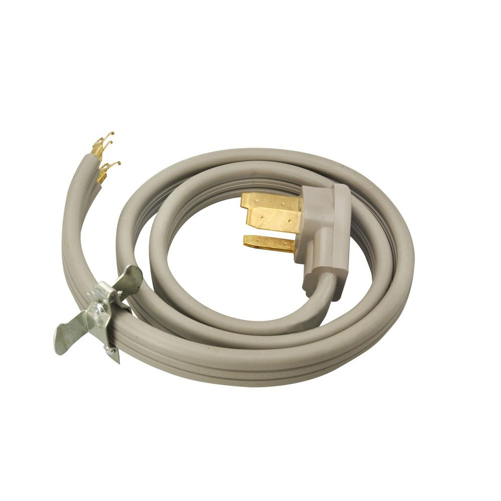 Southwire 5 Ft 6 2 8 1 3 Wire Range Cord 3 Pack 64822701 Dryer Plug Cord Plugs