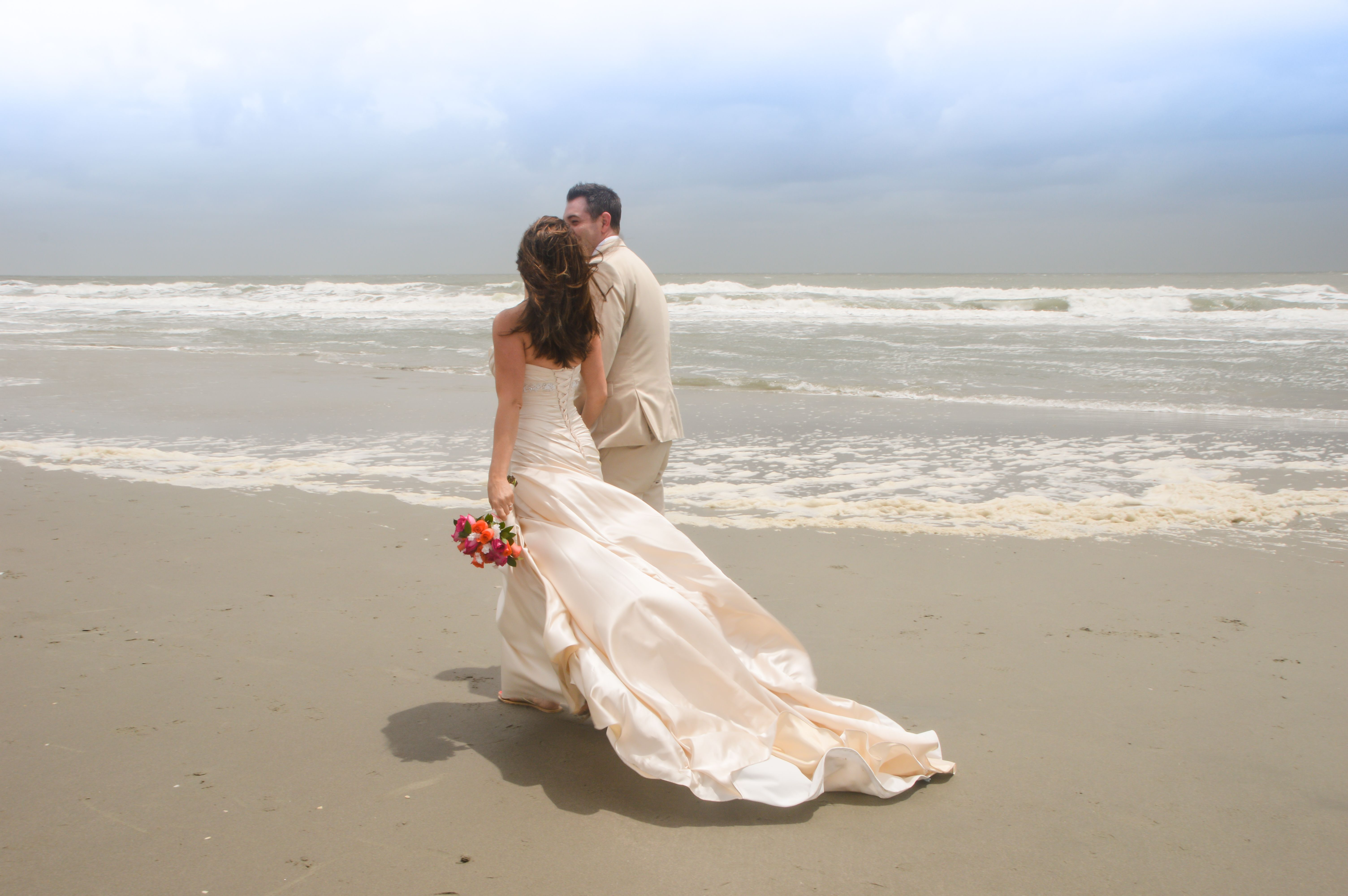 Sunrise beach wedding  Sabrina Blackburn billblackburn on Pinterest