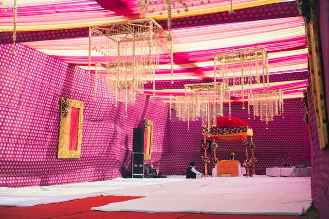 A stylish sikh affair in jalandhar with saffron details amarjeet a stylish sikh affair in jalandhar with saffron details amarjeet kirat stage decorationsparty decoration ideaswedding junglespirit Choice Image