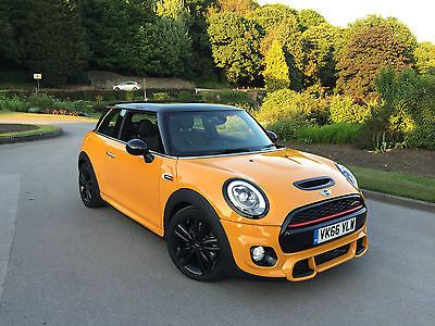 201666 Mini Cooper 15 Hatch Jcw Sportchili Pack Volcanic Orange
